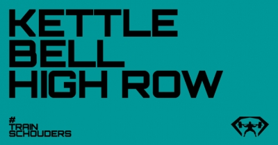 kettlebell high row