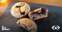 blueberry havermout muffin