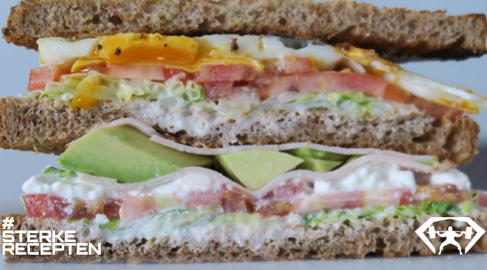 bodybuilding club sandwich