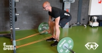lat activation deadlift oefening